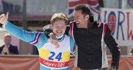 Hugh Jackman e Taron Egerton nelle prime immagini ufficiali di Eddie the Eagle