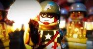 Captain America combatte contro dei nazisti zombie in un cortometraggio in LEGO stop motion