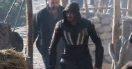 Assassin's Creed, Michael Fassbender in costume di scena nelle nuove foto dal set