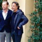 Leonardo DiCaprio e Alejandro G. Iñarritu a Roma per Revenant - Redivivo, il loro