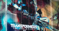 Transformers: The Last Knight, Optimus Prime affronta un nuovo nemico nel billboard apparso a Times Square