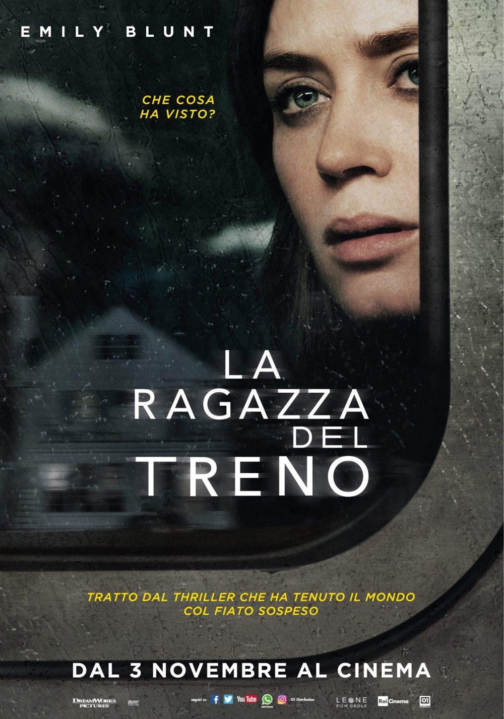 Risultati immagini per la ragazza sul treno poster film