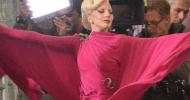 Ecco Lady Gaga sul set di American Horror Story: Hotel
