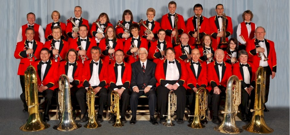 BAE Systems Brass Band in 2009