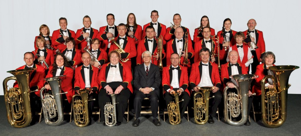 BAE Systems Brass Band in 2013