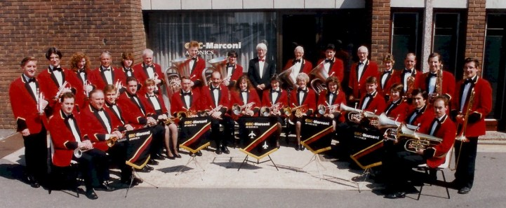 GEC Avionics Brass Band in 1994