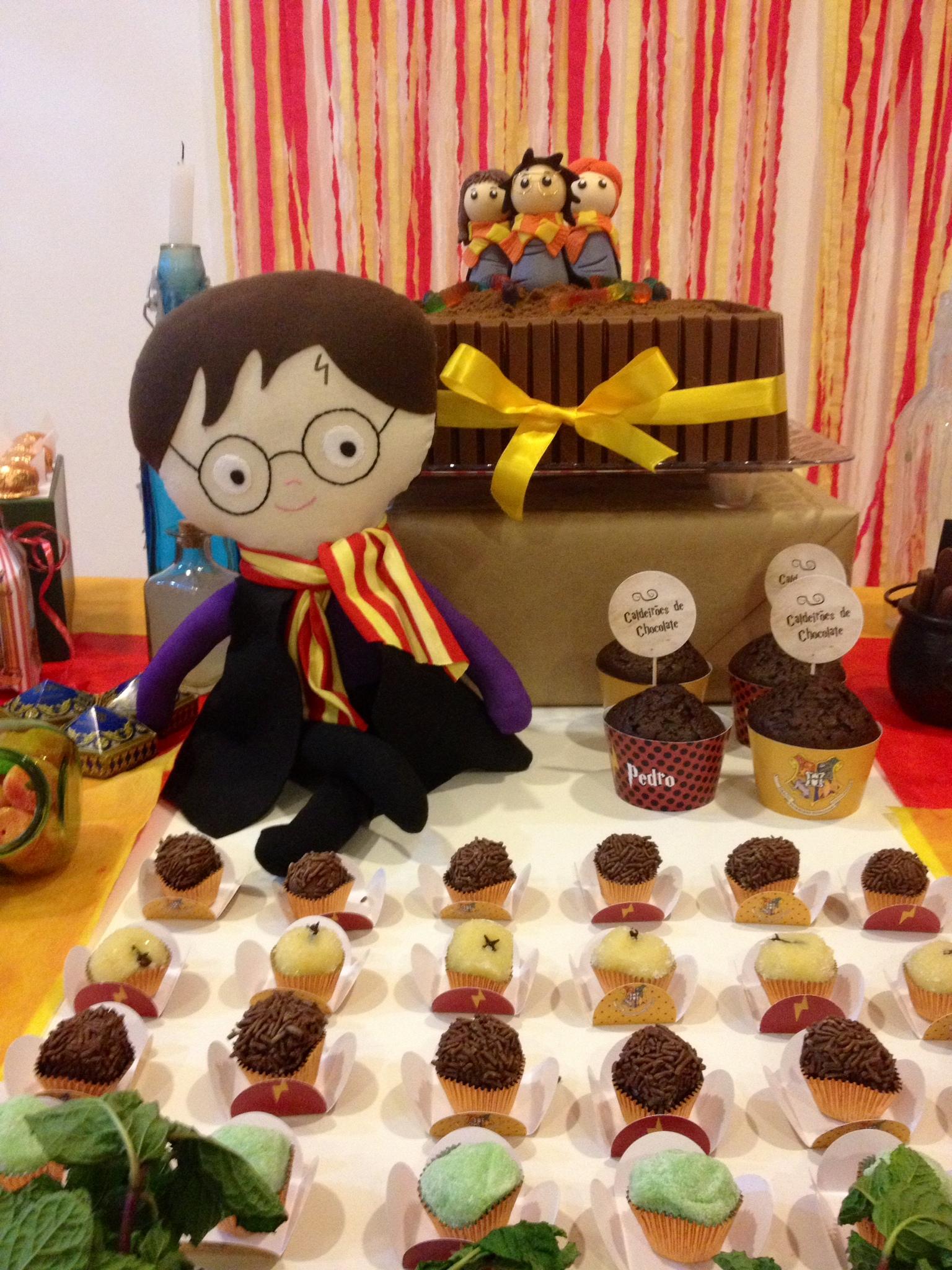 Aparador Sala De Jantar Rustico ~ Festa Harry Potter decoraç u00e3o Bagagem de M u00e3eBagagem de M u00e3e