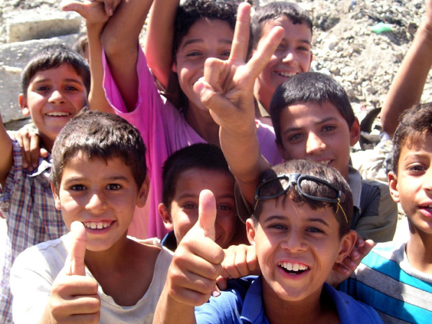 Iraq children excited for the future