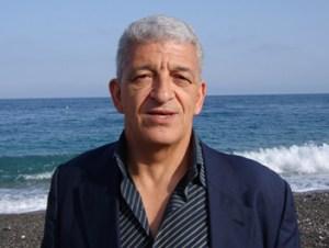 """Lo scrittore Melo Freni a Bagheria. - Per la presentazione, a Palazzo Cutò, del suo libro """"Oltre il labirinto"""""""