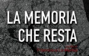 """Proiezione """"La Memoria che resta"""" di Francesca La Mantia. - 25.07.16 ore 20,45 - Piazza Larderia Bagheria"""
