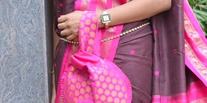 Pure Ghee Designs Festive Clutch Look