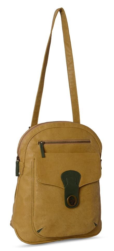 Baggit Rock Chic Mehendi Backpack