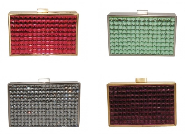Store Eva Crystal Clutches