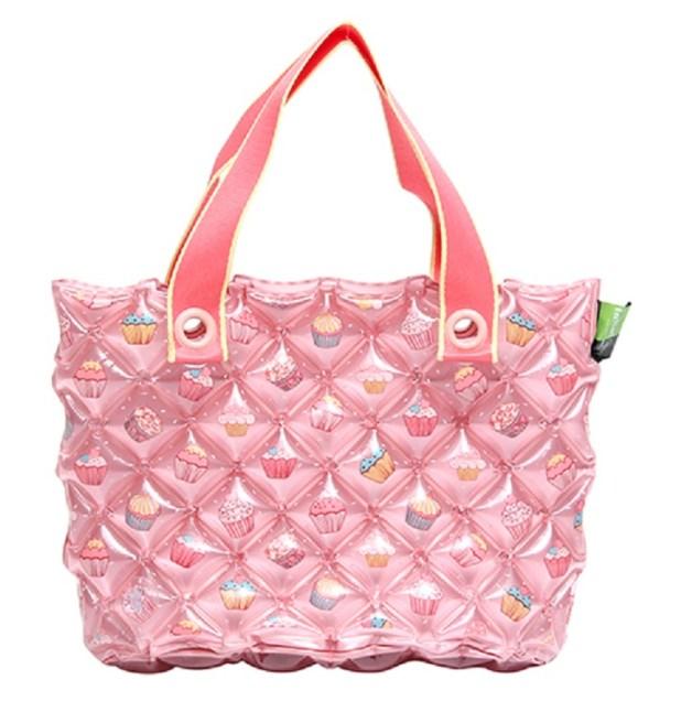 Inflat Decor Pink Bubble Bag