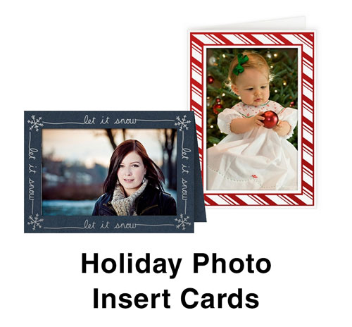 Holiday Paper Photo Frames