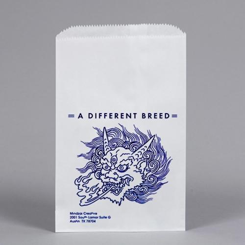 Custom Printed FLAT Merchandise Bag 6-1/4 x 9-1/4\