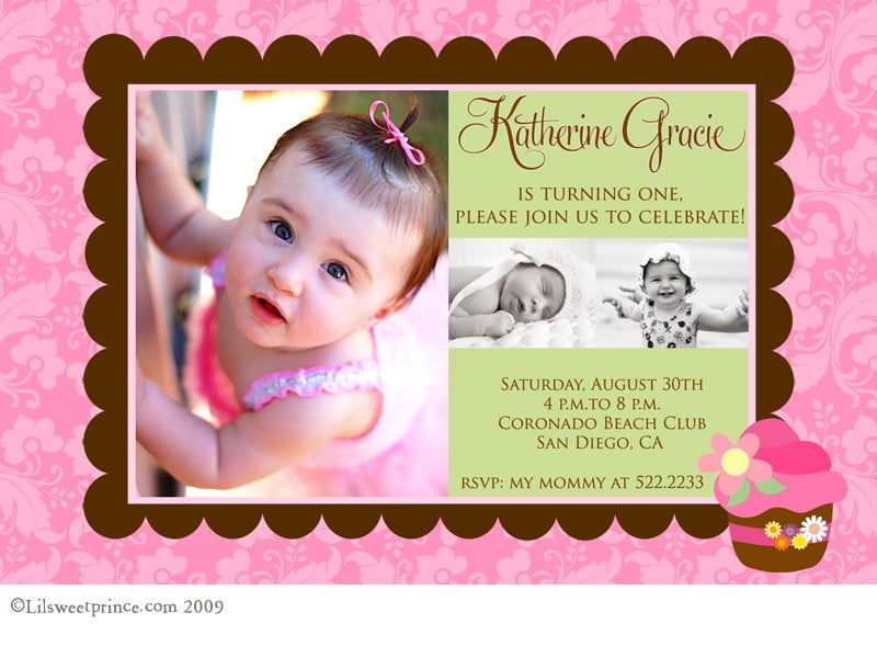 First Birthday Invitations Ideas \u2013 Bagvania FREE Printable - free first birthday invitations templates