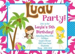 Small Of Birthday Party Invitation Wording