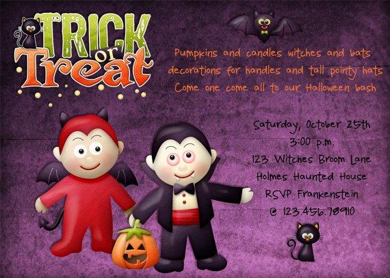 Kids Halloween Birthday Party Invitation \u2013 FREE Printable Birthday
