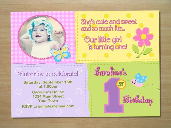 butterfly first birthday invitations \u2013 FREE Printable Birthday