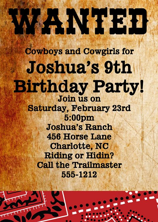 Wanted poster western birthday invitations \u2013 Bagvania FREE Printable - free printable wanted poster