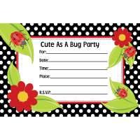 Free Printable Ladybug Birthday Invitations Bagvania