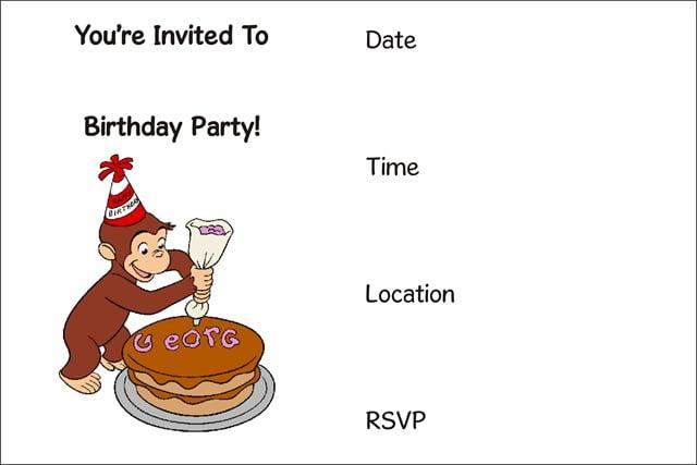 free printable birthday invitations for tweens