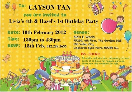 How To Write a Birthday Invitation \u2013 FREE Printable Birthday