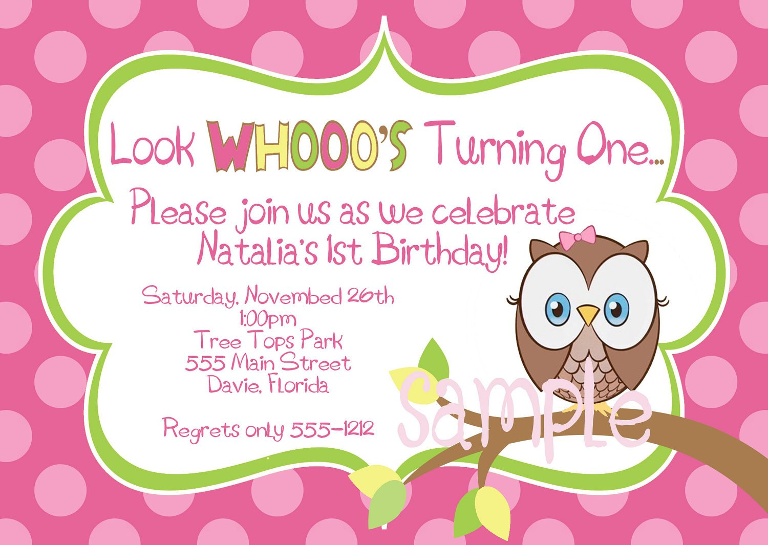 Cozy Owl Birthday Party Invitations Bagvania Free Printable ...