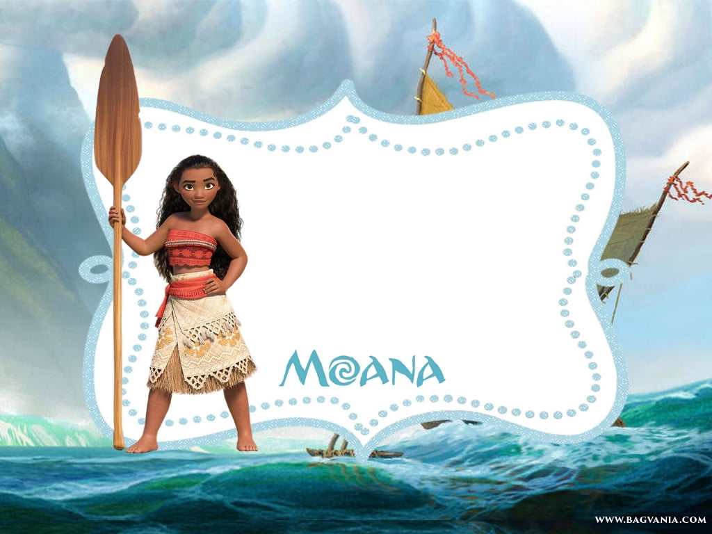 picture regarding Free Printable Moana Invitations referred to as Comfy No cost Printable Moana Invitation Template No cost Printable