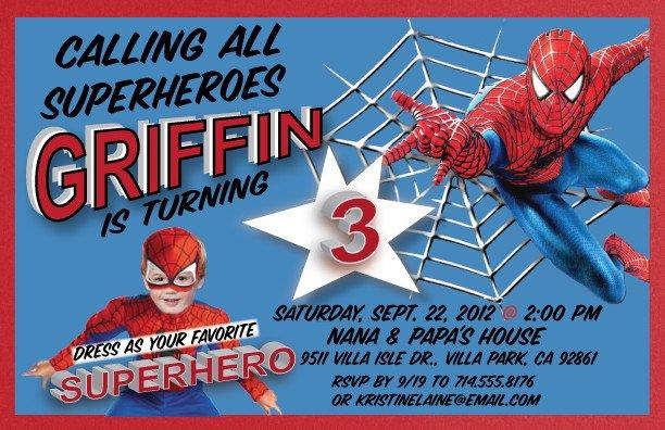 FREE Printable Superhero Birthday Invitations \u2013 Bagvania FREE