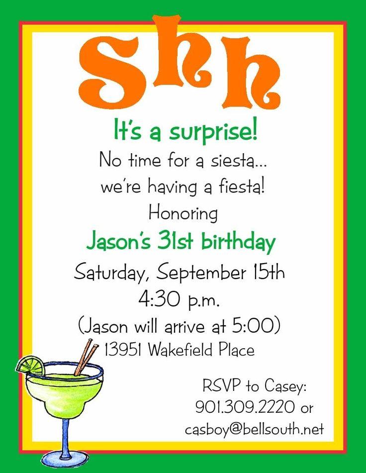 surprise birthday dinner invitation wording