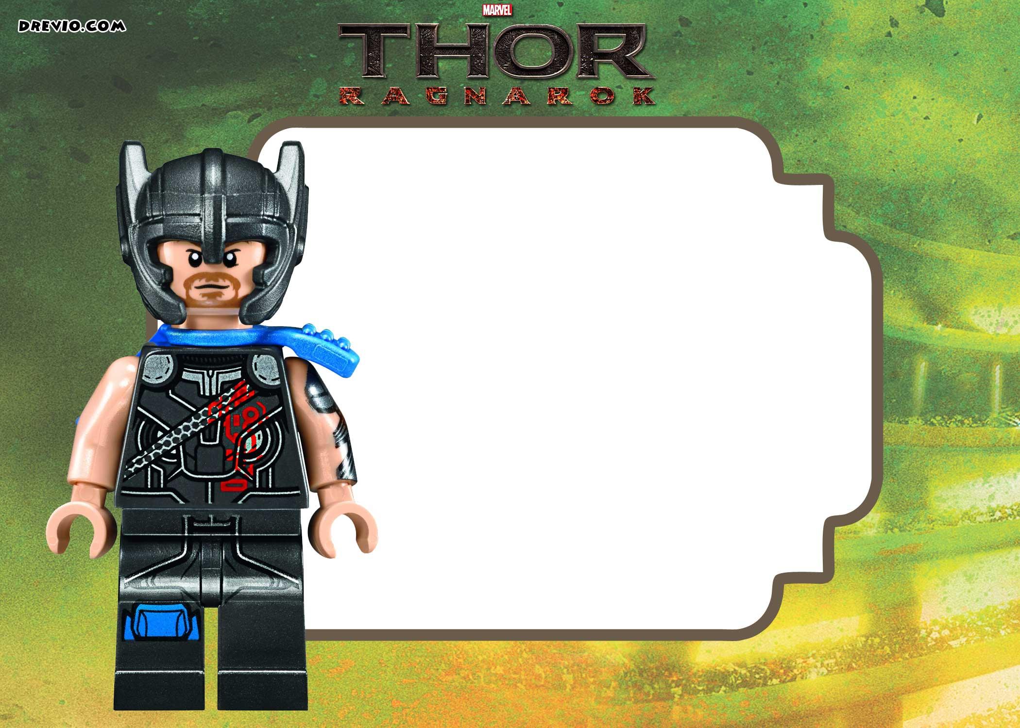 Thor Birthday Invitations - Ivoiregion