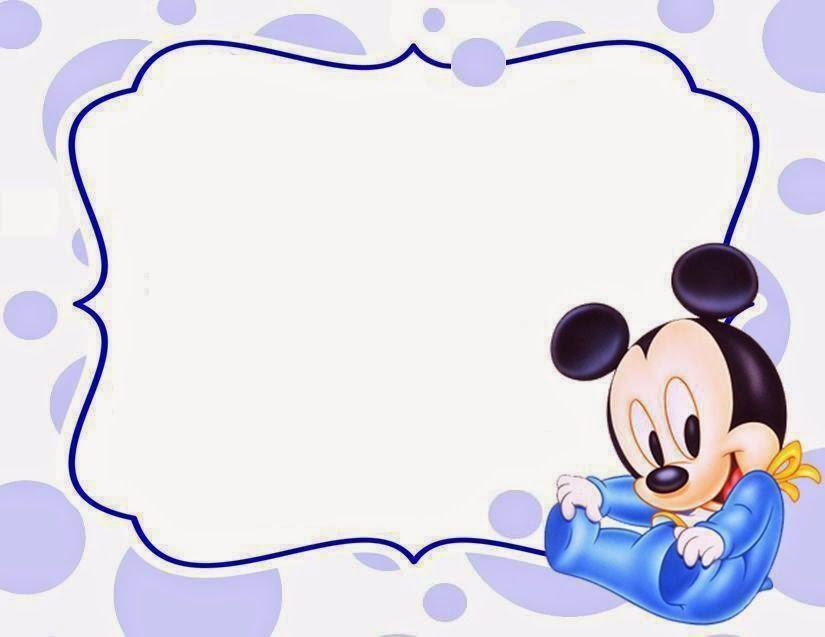 FREE Mickey Mouse 1st Birthday Invitations \u2013 FREE Printable Birthday