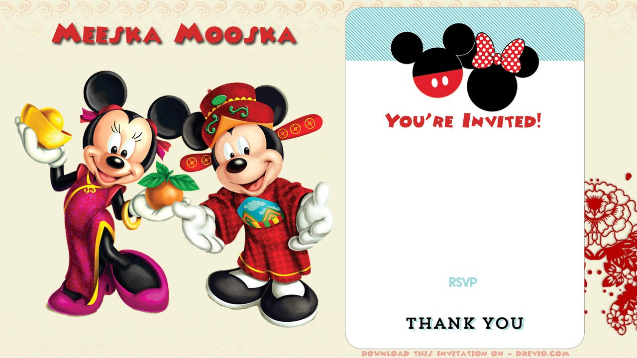 free mickey mouse clubhouse birthday invitations bagvania free printable invitation template