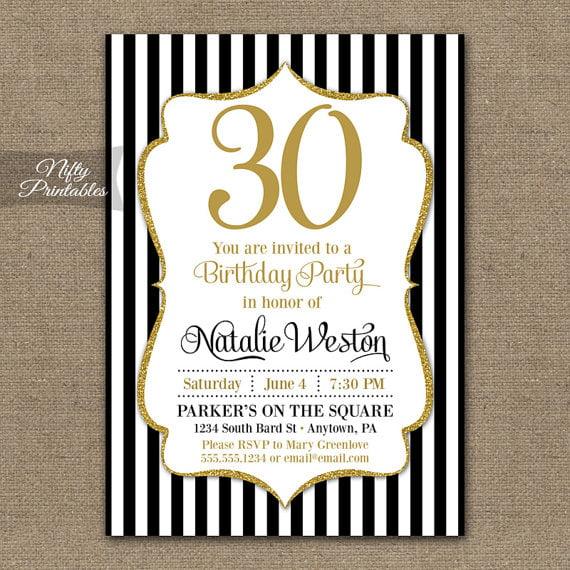 FREE 30th Birthday Invitation Wording \u2013 Bagvania FREE Printable - birthday invitation software