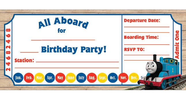 FREE Birthday Party Invites for Kids \u2013 Bagvania FREE Printable - free birthday party invitation template