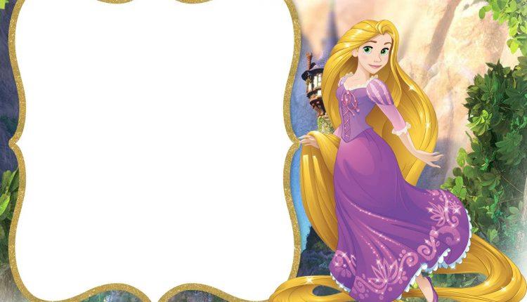 FREE-Printable-Princess-Rapunzel-Invitation-Template \u2013 FREE