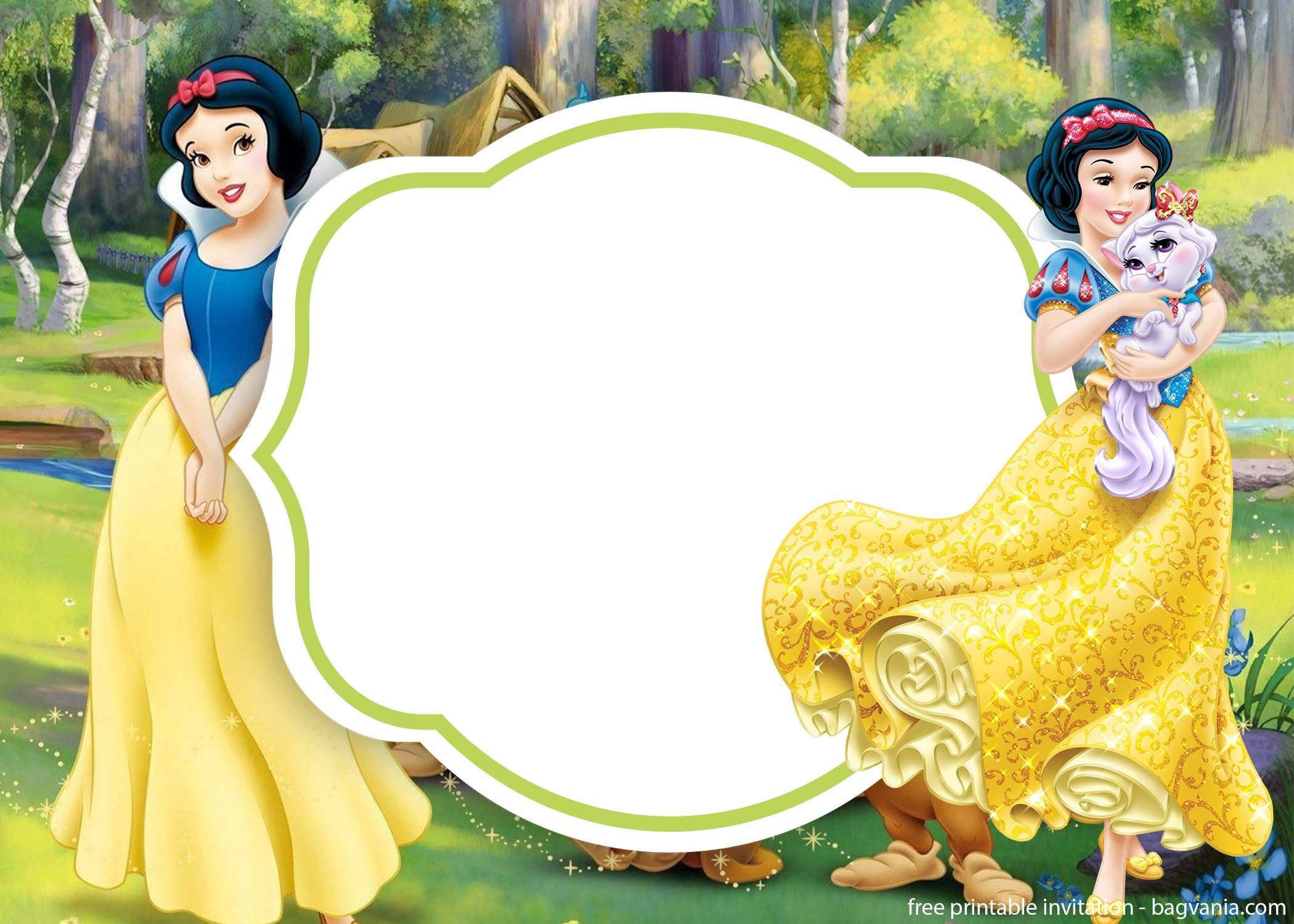 Invitation Snow White Ivoiregion