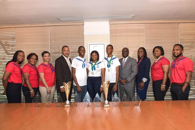 Bahamas First-A Clean Sweep at 2017 JA Awards Nassau / Paradise - junior achievement bahamas