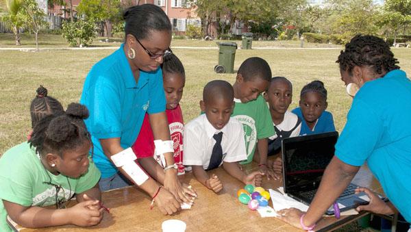 Junior Achievement Bahamas \u2013 JA Piggy Bank Treasure Hunt a Success - junior achievement bahamas