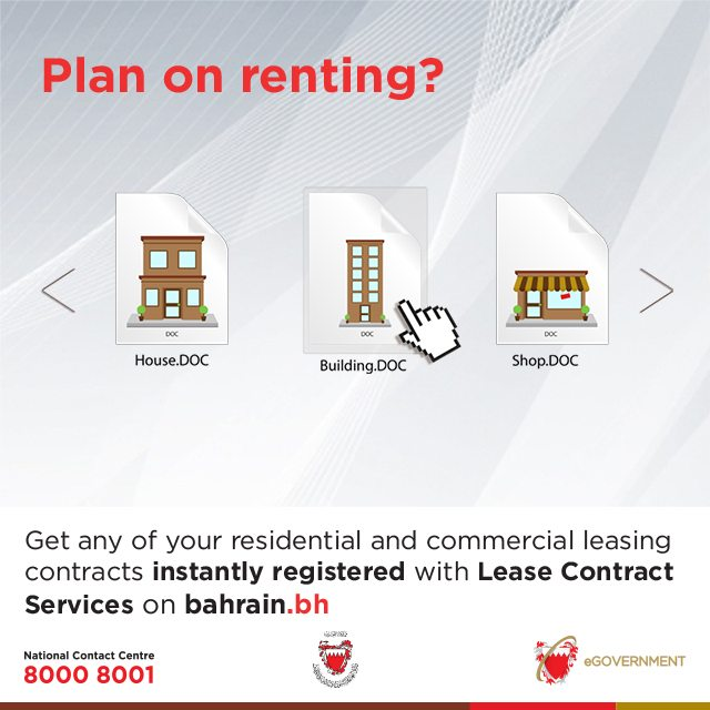 Registering a lease contract? We can help! - Bahrain This Week - residential service contracts