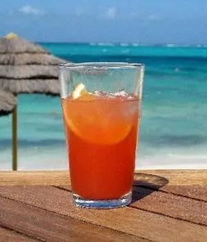 Bajan rum punch. Bentey - a virgin Rum Punch. Bajan lime squash.