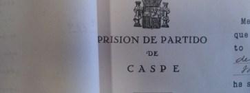 Caspe desconocido (y reivindicativo): la cárcel del Castillo merece recuperarse