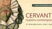 La UNED de Caspe homenajea a Cervantes con un curso sobre su vida y obra.