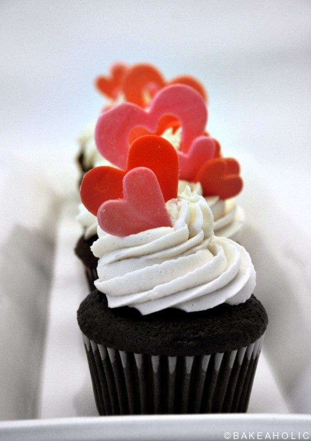 bakeaholic cupcakes valentine