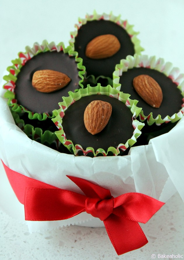 almond butter cups bakeahlic