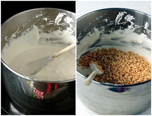 Quinoa Rice Crispy Squares // bakeaholic.ca