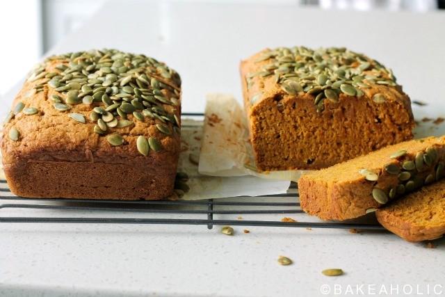 bakeaholic pumpkin bread