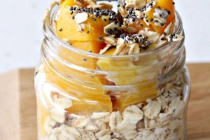 peachy overnight oats